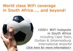 Trustive has 1000+ WiFi hotspots in South Africa including Cape Town, Durban & Johannesburg international airports. Click here for more information